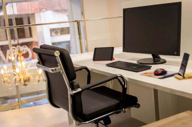 espacio de trabajo propio