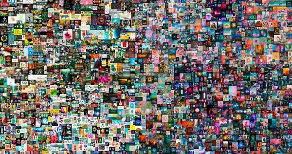 beeple-collage arte digital